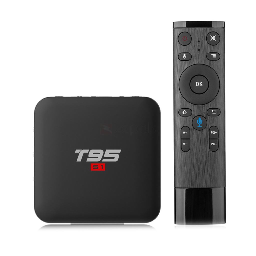 T95 S1 Android 7.1 Smart 4K TV Box with Voice Remote 2GB 16GB Was: $65.99 Now: $34.99.