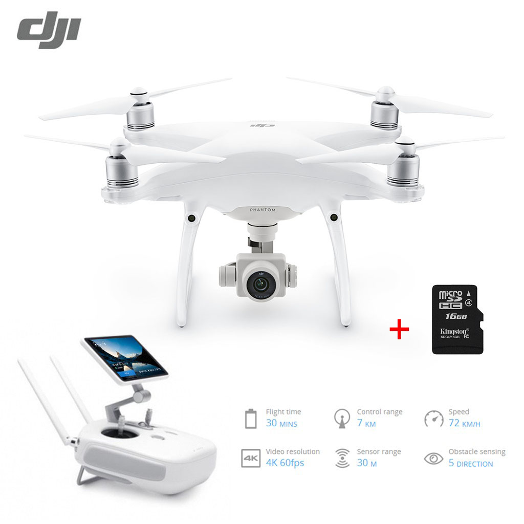 Extra 22% OFF $1871.22 Coupon Code  for DJI Phantom 4 Pro + 20MP 4K Drone with 5.5 inch 1080P Screen
