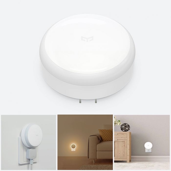 Xiaomi Yeelight YLYD03YL PIR Motion Sensor Light Induction Night Light - CN Plug Was: $16.99 Now: $8.99.