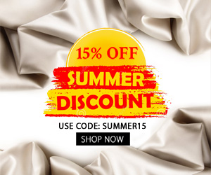 Summer Sale. 15% OFF Site Wide