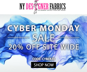 20% OFF Cyber Monday Site Wide Sale