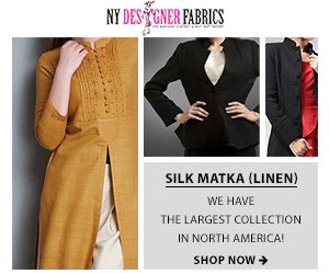 The Largest Collection in North America is Here. Silk Matka (Linen) in any color