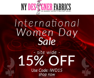 International Women day Sale. Use Code: IWD15 at Checkout and Get 15% OFF Site Wide