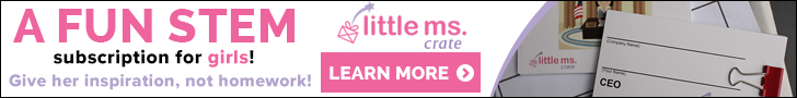 Little Ms. Crate -- A fun STEM subscription for girls!