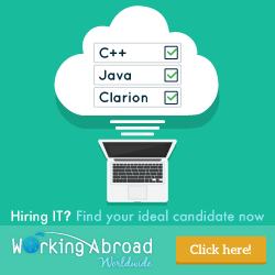 Try our global IT job board, now free of charge! Working Abroad Worldwide