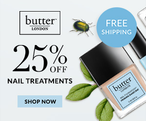 Prep, Prime, and Shine with 25% off all Nail Treatments plus a free gift with purchase when you spend $50 or more. Free shipping on all orders. Shop Now and Save!