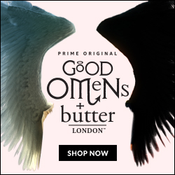 Shop our exclusive Nail Lacquer inspired by the Prime Original series Good Omens