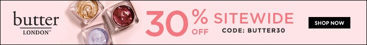 Limited Time Sale: 30% Off Everything! Take advantage of this butter LONDON sale offer. Hurry, Promotion ends 3/17! Shop Now and save.