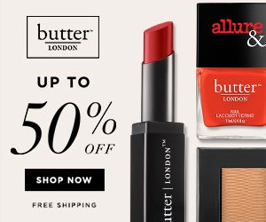 Sale Items at butter LONDON! Come check out what butter LONDON has to offer at up 50% off! Shop Now at butterlondon.com!