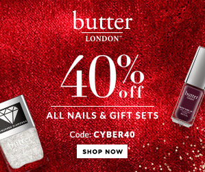 Get 40% Off All Nails And Gifts. Use Code: CYBER40!