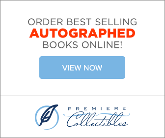Bestselling autographed books