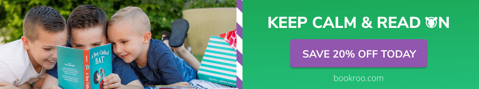 Keep Calm & Read On, 20% off