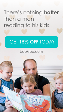 There's nothing hotter than a man reading to his kids. Get 15% off today at bookroo.com.