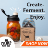 Fermentation with reCAP Mason Jars Fermenter
