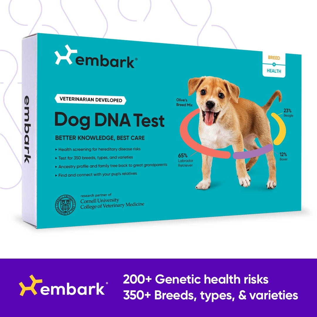 200+ Genetic Health Risks, 350+ Breeds, types, & varieties