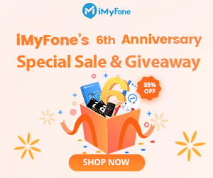 iMyFone 6th Anniversary Giveaway