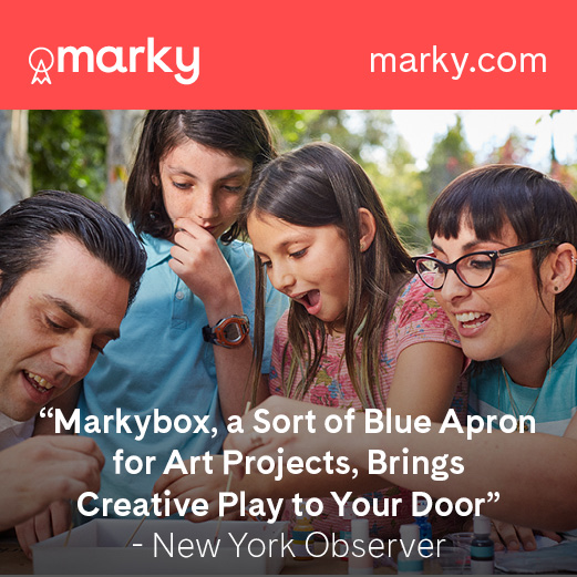 The Marky Box provides an excellent opportunity to teach art appreciation to kids in a hands-on manner, and creates meaningful memories for families.
