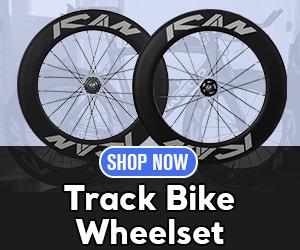 Carbon Track Bike Wheelset 88mm