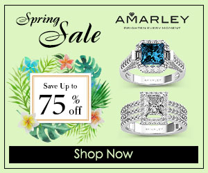 Spring Sale, Save Up to 75% off Amarley Rings
