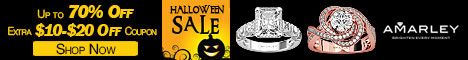 Amarley Halloween Sale Coupon Code, 70% Off Rings
