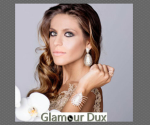 charm earring - Glamour Dux