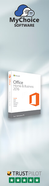 Buy genuine Microsoft Office 2016 Home and Business Licensing from MyChoiceSoftware.