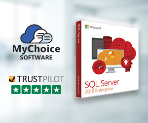 Buy genuine Microsoft SQL Server 2016 licensing from MyChoiceSoftware.