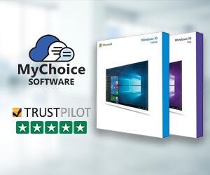 Buy genuine Microsoft Windows 10 licensing from MyChoiceSoftware.