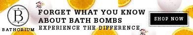 Bathorium bath bombs