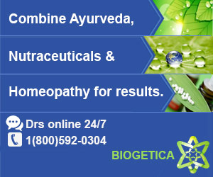 Combine Ayurveda, Homeopathy & Nutraceuticals for results