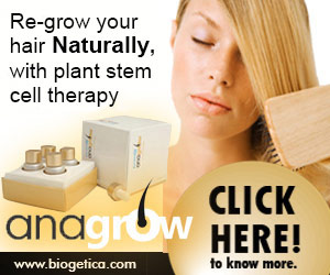 re-grow hair,naturally,plant stem therapy,How to prevent hair loss,causes of hair loss,woman,best treatment,natural remedies,restore hair