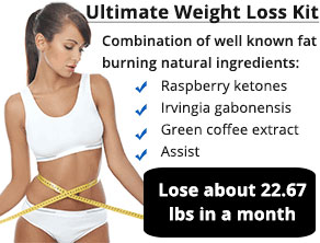 Lose about 22.67 lbs in a month