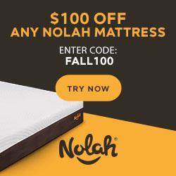 Nolah Mattress - Save $100 on any size mattress