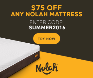 Nolah Mattress - RISK-FREE 120 nights trial period