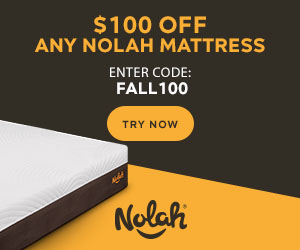 Nolah Mattress - Save $100 on any size mattress