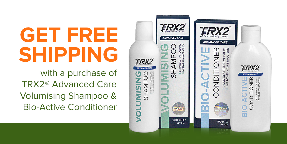 TRX2 Shampoo and Conditioner,How to prevent hair loss,causes of hair loss,woman,best treatment,natural remedies,restore hair