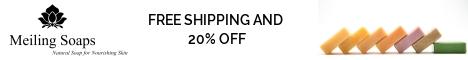 Qi Tonic & Shea Butter Bath Soaps 20% Off with Free Shipping