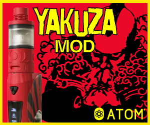 Yakuza Box Mod 70w, WATT,NI, TI, Ceramic, Apple Lightning Port