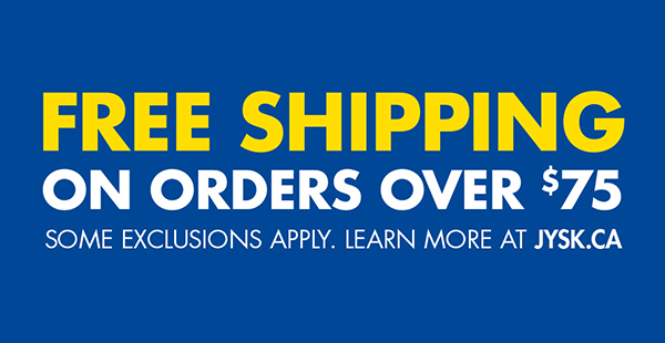 Free Shipping on orders over $75 at JYS.ca.