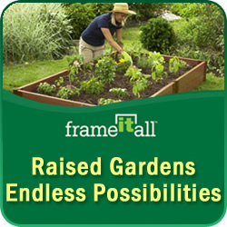 Raised Bed Vegetable Garden-Benefits