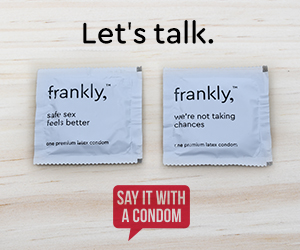 frankly, condoms let's talk