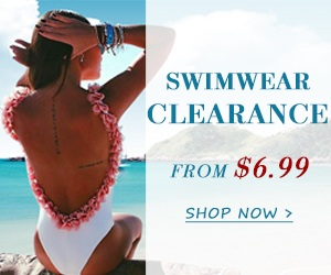 SALE ON SALE!Swimwear Leading Trends!80% OFF and MORE! Seize Vouchers: BS4 BS8 BS10 (49-4,69-8,99-10)