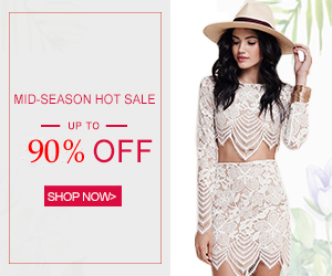 Massive MID-SEASON SALE is in full swing: 90% OFF and More! Leading Fashion Trends!