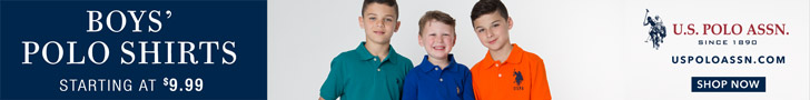 Boys' Polo Shirts Starting at $9.99
