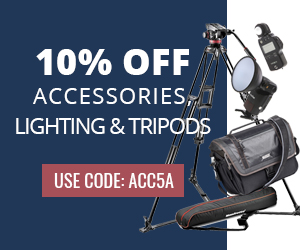 Get 10% Off Accessories, Lighting, & Tripods at KEH Camera with Code: ACC5A. Offer Valid Until 5/16!