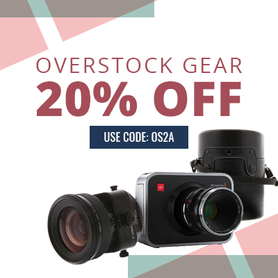 Overstock Sale! Get 20% Off Overstock Gear at KEH Camera with Code OS2A at Checkout. Offer Valid Until 2/29!