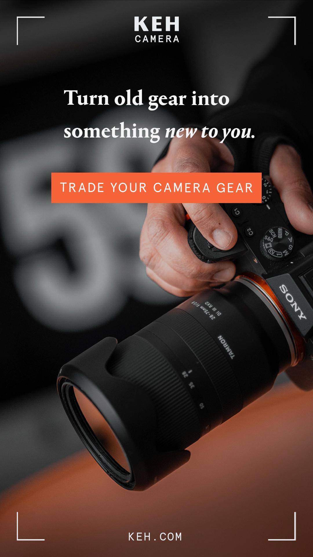 KEH Camera Banner