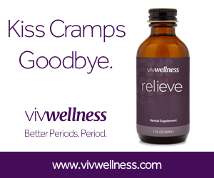 Kiss Cramps Goodbye -VivWellness.com