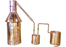 Copper Moonshine stills