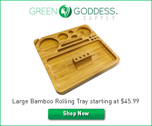 Large Bamboo Rolling Tray